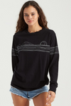 BILLABONG Epic Views L/S T-Shirt Women's Black WOMENS APPAREL - Women's T-Shirts Billabong