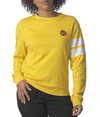 SANTA CRUZ Classic Dot Boyfriend Long Sleeve T-Shirt Women's Gold WOMENS APPAREL - Women's Long Sleeve T-Shirts Santa Cruz S