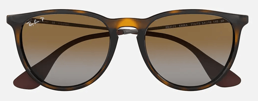 RAY-BAN Erika Classic Tortoise/Gunmetal - Brown Gradient Polarized Sunglasses SUNGLASSES - Ray-Ban Sunglasses Ray-Ban