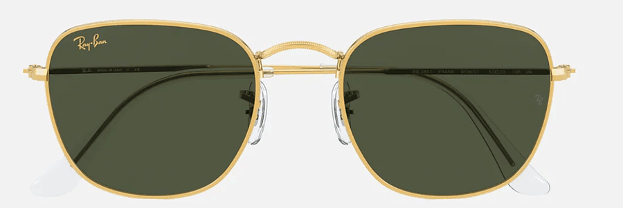 RAY-BAN Frank Legend Gold - Green Classic G-15 Sunglasses SUNGLASSES - Ray-Ban Sunglasses Ray-Ban