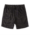 BILLABONG Surftrek Perf Dunes Lines Shorts Black MENS APPAREL - Men's Hybrid Shorts Billabong
