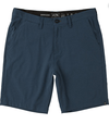 BILLABONG Surftrek Heather Walkshorts Dark Indigo Heather MENS APPAREL - Men's Walkshorts Billabong
