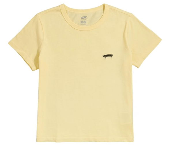 VANS Vistaview T-Shirt Women's Mellow Yellow WOMENS APPAREL - Women's T-Shirts Vans S