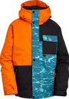 BILLABONG Arcade Snowboard Jacket Boys Bright Orange 2021 YOUTH INFANT OUTERWEAR - Youth Snowboard Jackets Billabong