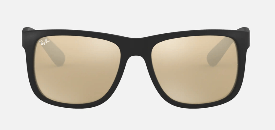 RAY-BAN Justin Color Mix Black - Gold Mirror Sunglasses SUNGLASSES - Ray-Ban Sunglasses Ray-Ban