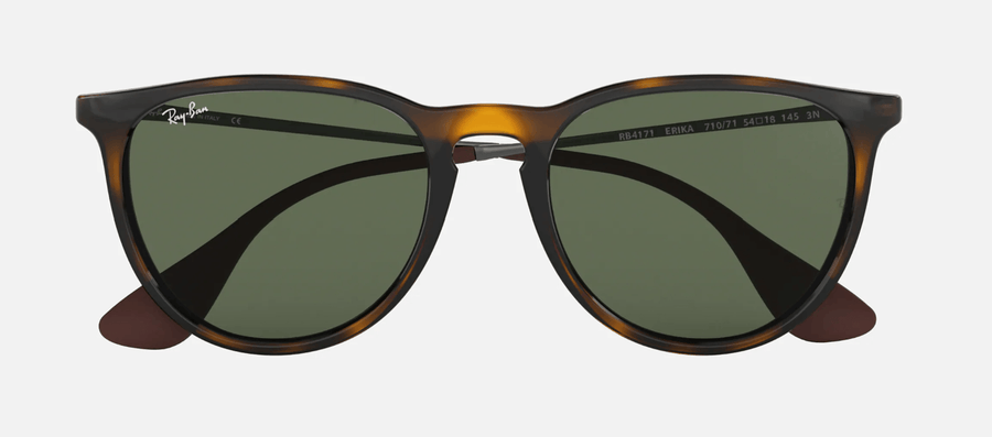 RAY-BAN Erika Classic Tortoise/Gunmetal - Green Classic Sunglasses SUNGLASSES - Ray-Ban Sunglasses Ray-Ban