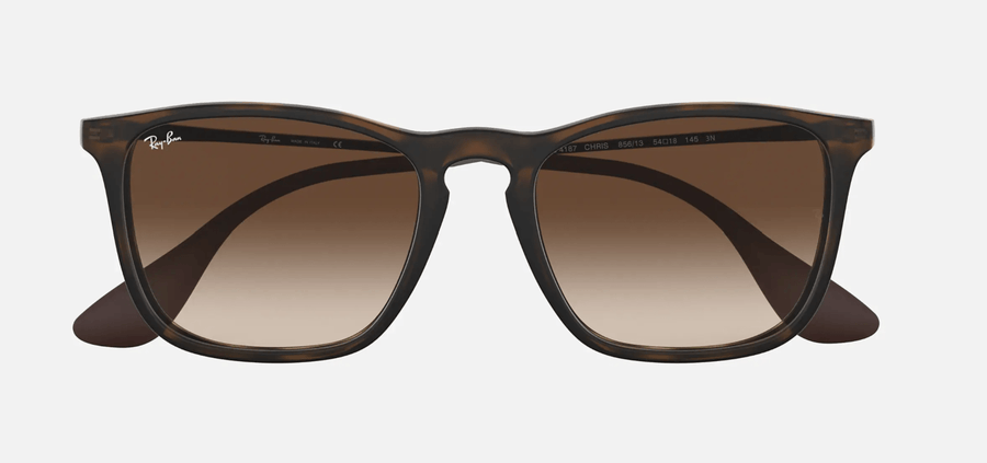RAY-BAN Chris Tortoise - Brown Gradient Sunglasses SUNGLASSES - Ray-Ban Sunglasses Ray-Ban