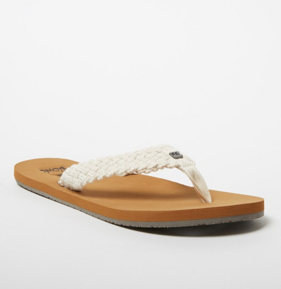 BILLABONG Baja Sandals Women's Natural FOOTWEAR - Women's Sandals Billabong