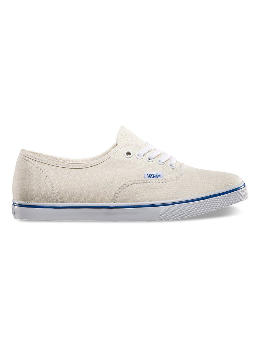 VANS Authentic Lo Pro Shoes Women's White/True White FOOTWEAR - Women's Skate Shoes Vans 7.5