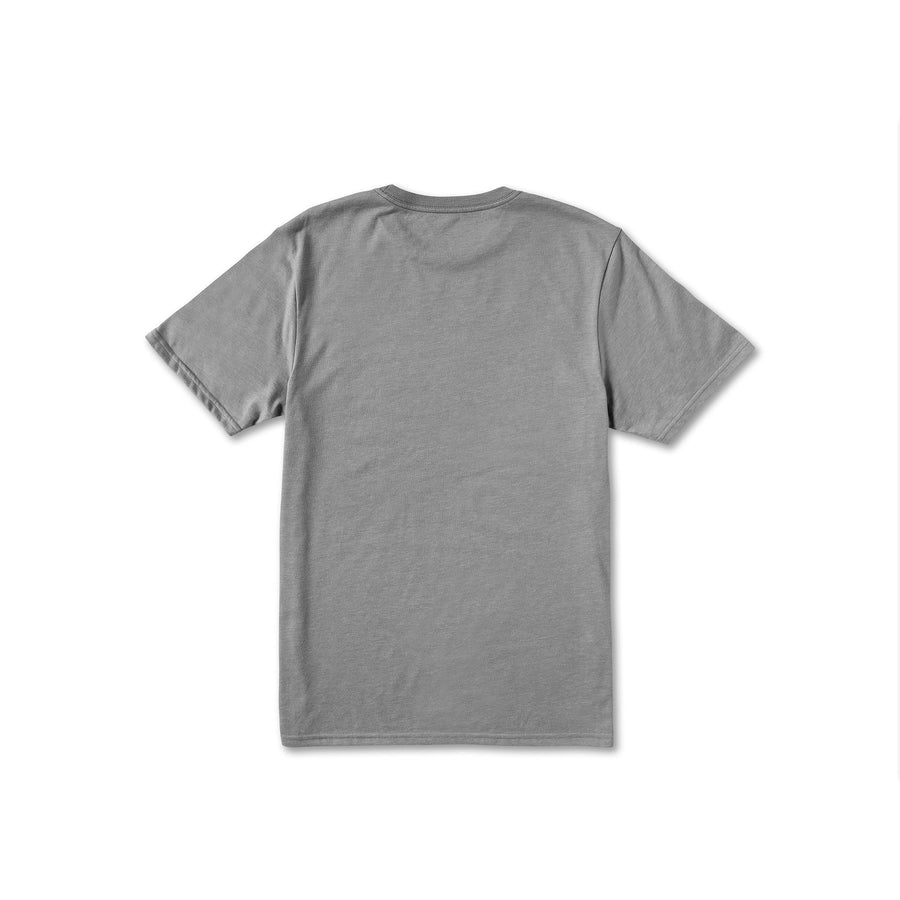 VOLCOM Stone Tech T-Shirt Heather Grey MENS APPAREL - Men's Short Sleeve T-Shirts Volcom M