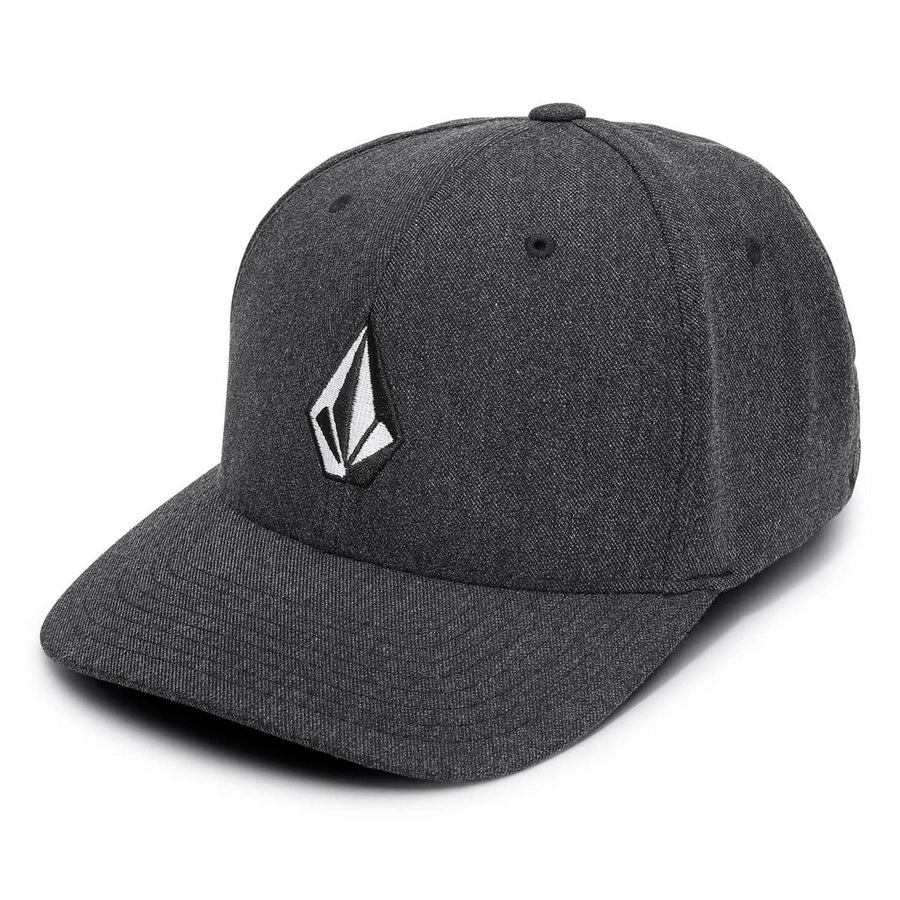 VOLCOM Full Stone Xfit Hat Kids Heather Grey KIDS APPAREL - Boy's Hats Volcom