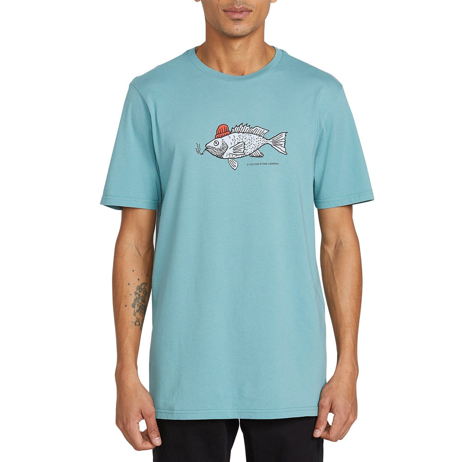 VOLCOM Trout There T-Shirt Agave