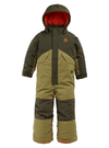 BURTON One Piece Snowsuit Toddler Martini Olive/Forest Night 2021 YOUTH INFANT OUTERWEAR - Infant Outerwear Burton