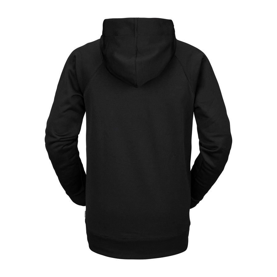 VOLCOM Hydro Riding Pullover Hoodie Black MENS APPAREL - Men's Pullover Hoodies Volcom