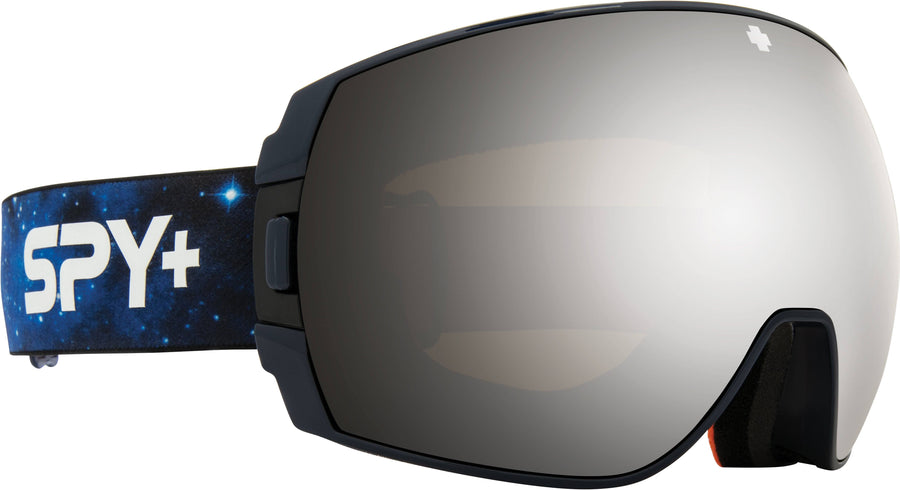 SPY Legacy Galaxy Blue - HD Plus Bronze with Silver Spectra Mirror + HD Plus LL Persimmon with Silver Spectra Mirror Snow Goggle GOGGLES - Spy Goggles Spy