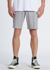 "BILLABONG New Order Slub Submersible 19"" Hybrid Shorts Alloy"