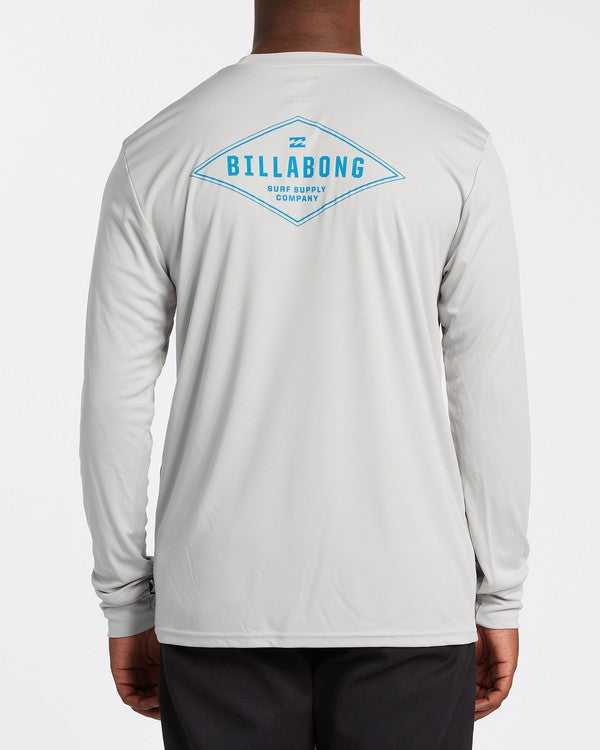 BILLABONG Surf Supply UV L/S T-Shirt Silver