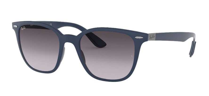 RAY-BAN RB4297 Matte Blue - Grey Gradient Sunglasses