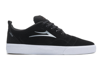 LAKAI Bristol Suede Shoes Black/ Grey FOOTWEAR - Men's Skate Shoes Lakai 9