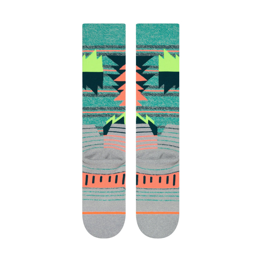 STANCE Oscillate Women's Snow Socks Teal SNOWBOARD ACCESSORIES - Women's Snowboard Socks Stance