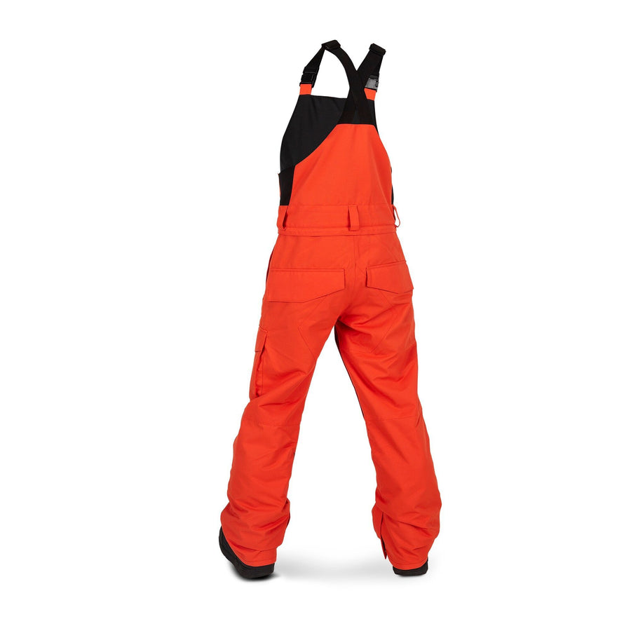 VOLCOM Barkley Bib Overall Youth Snowboard Pants Orange 2020 YOUTH INFANT OUTERWEAR - Youth Snowboard Pants Volcom L