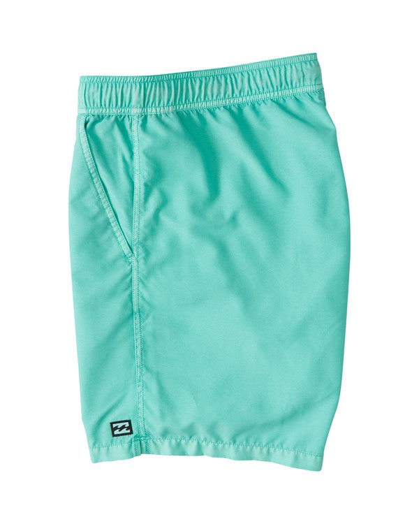 BILLABONG All Day Overdye Layback Boardshorts Aqua