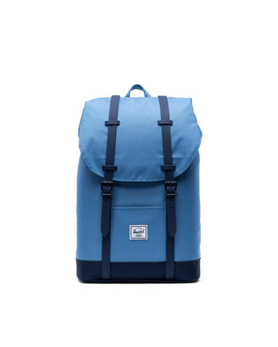 HERSCHEL Retreat Mid Backpack Riverside/Peacoat ACCESSORIES - Street Backpacks Herschel Supply Company