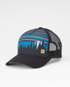 TENTREE Juniper Altitude Snapback Hat Meteorite Black
