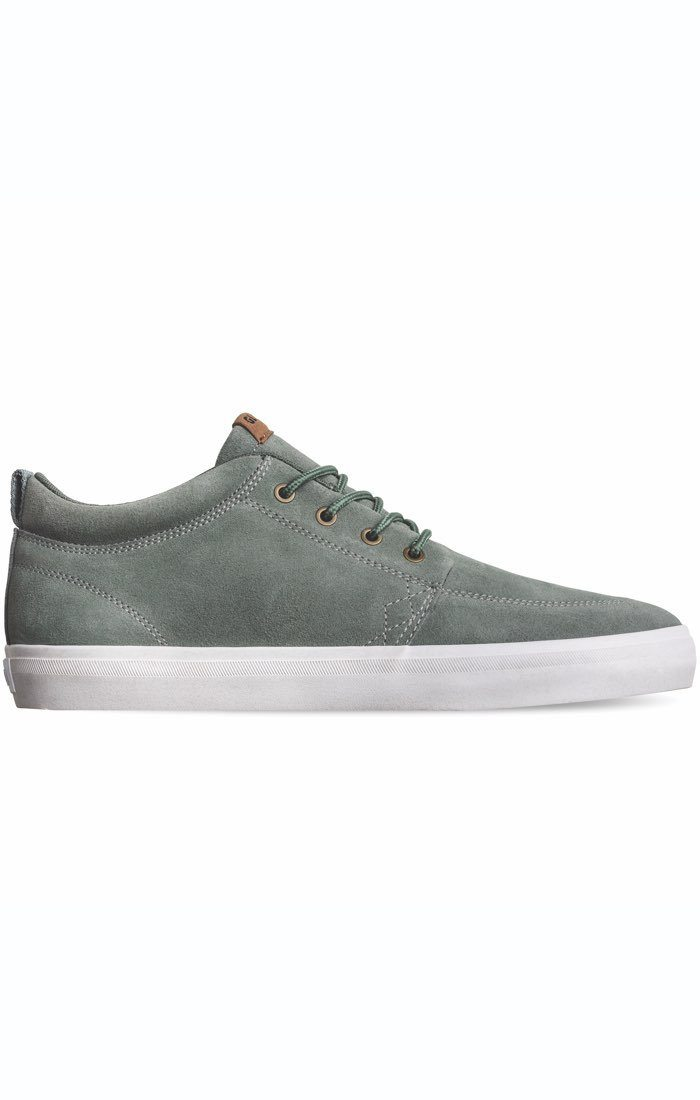 GLOBE GS Chukka Shoes Green Stone FOOTWEAR - Men's Skate Shoes Globe