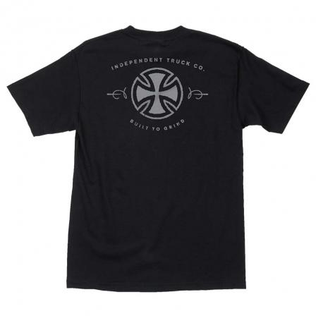 INDEPENDENT Mettalic BTG T-Shirt Black