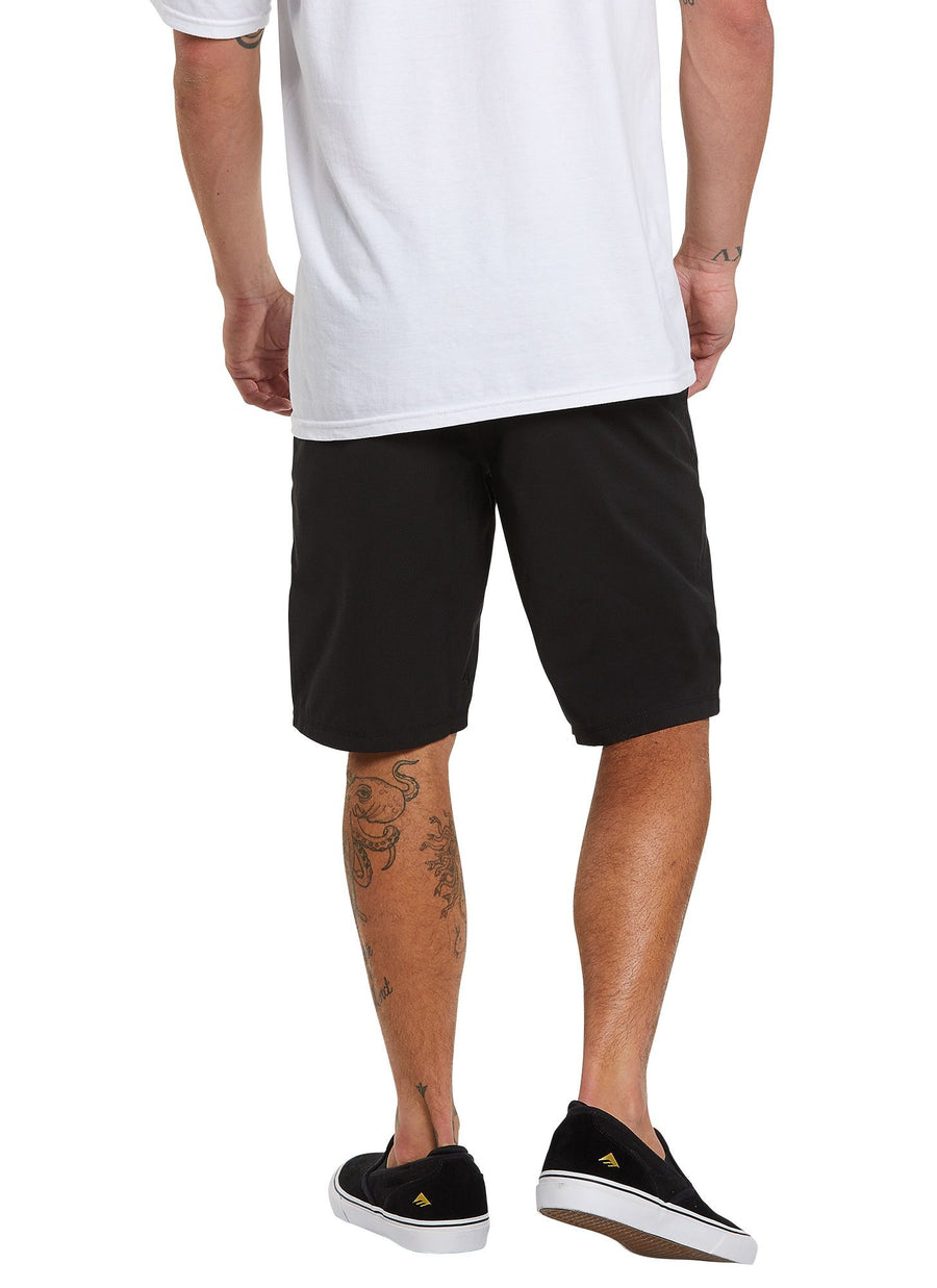 VOLCOM Surf N' Turf Static 2 Hybrid Shorts Black Out
