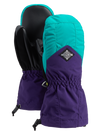 BURTON Profile Mitten Kids Dynasty Green/Parachute Purple WINTER GLOVES - Youth Snowboard Gloves and Mitts Burton