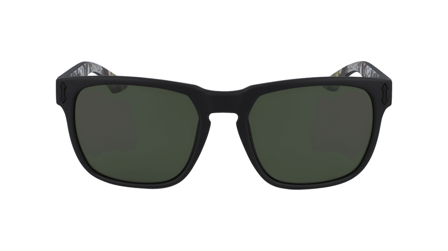 DRAGON Monarch Matte Black With Succulents - Lumalens G15 Sunglasses SUNGLASSES - Dragon Sunglasses Dragon