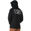 VANS Full Patched Pullover Hoodie Black