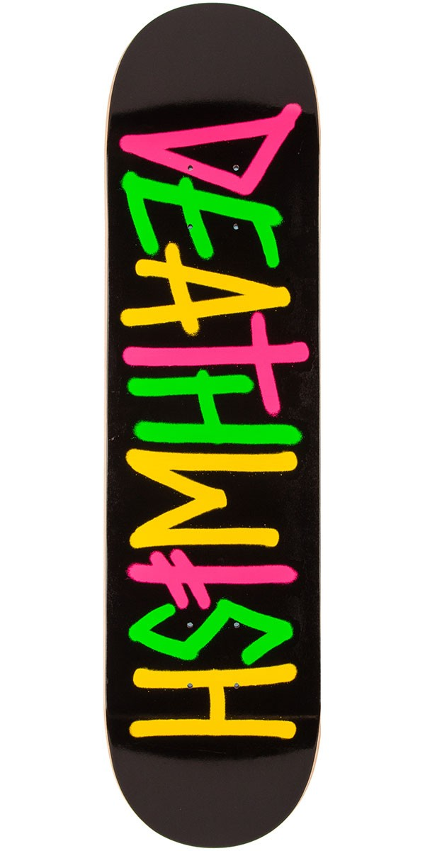 DEATHWISH Deathspray Multi OG 8.5 Skateboard Deck