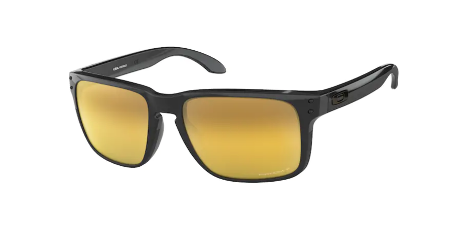 OAKLEY Holbrook XL Polished Black - Prizm 24k Polarized Sunglasses SUNGLASSES - Oakley Sunglasses Oakley