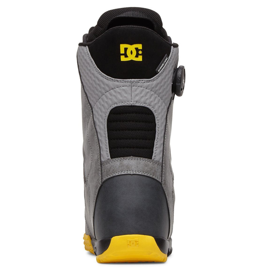DC Control BOA Snowboard Boots Frost Grey 2021 SNOWBOARD BOOTS - Men's Snowboard Boots DC