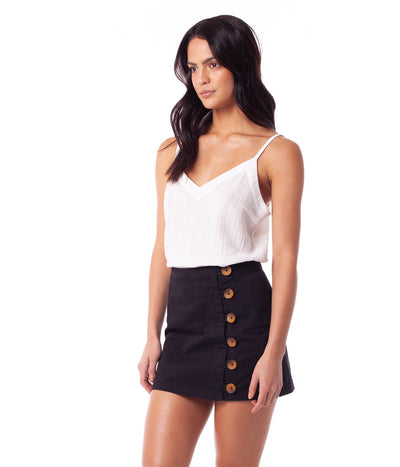 RHYTHM Brooklyn Skirt Women's Black