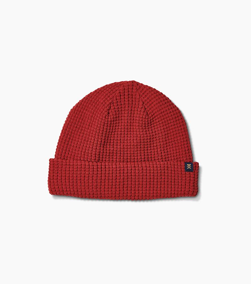 ROARK Ceann Beanie Brick Red MENS ACCESSORIES - Men's Beanies Roark Revival
