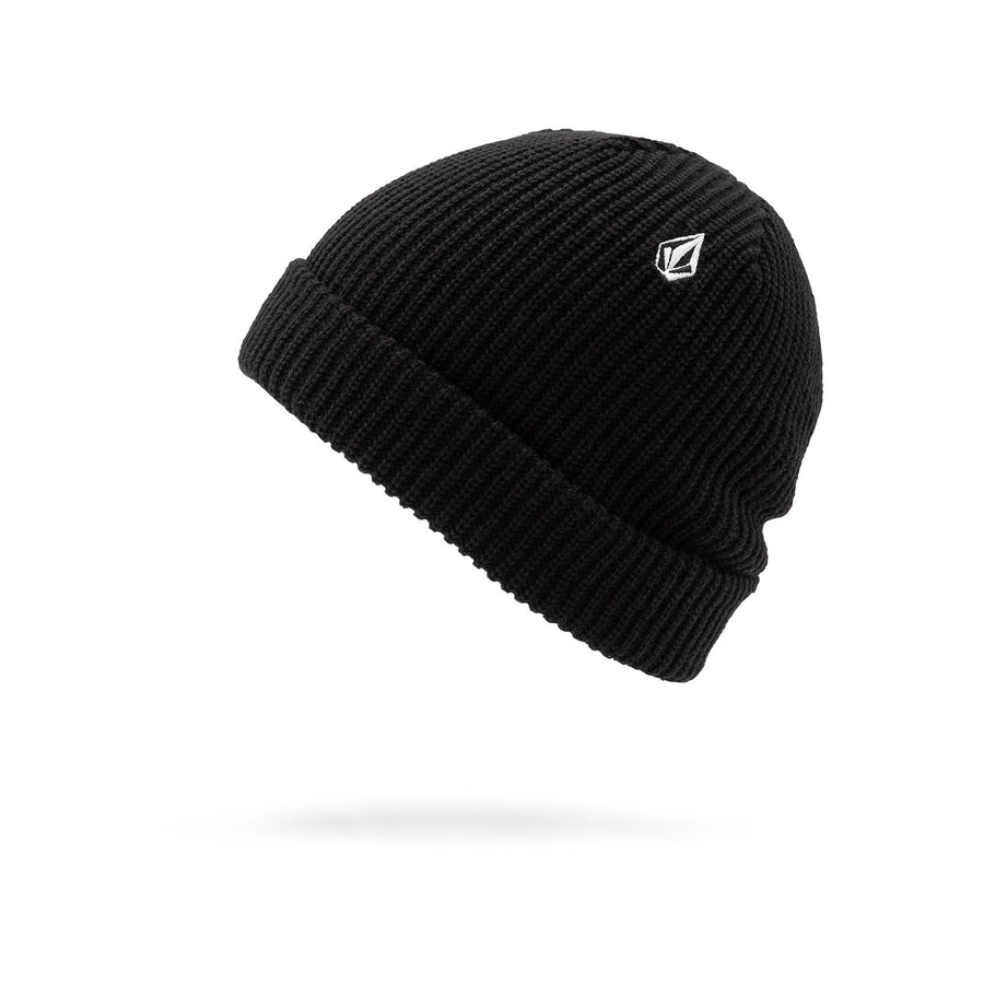 VOLCOM Sweep Beanie Black MENS ACCESSORIES - Men's Beanies Volcom