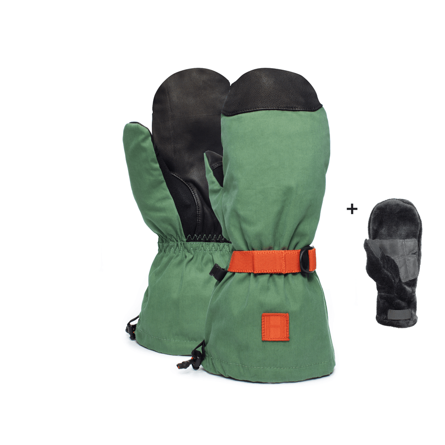 HOWL Network Snow Mitt Green Freeride Boardshop