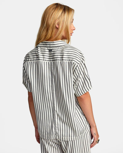 RVCA Take It Easy Top Women's Birch WOMENS APPAREL - Women's Blouses RVCA