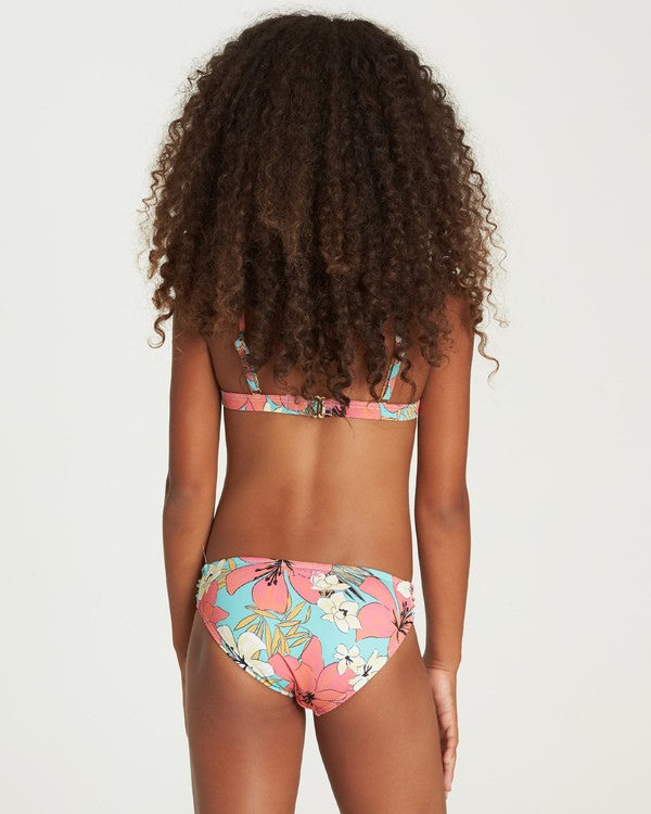 BILLABONG Aloha Sun Tank Bikini Set Girls Mo-Mint KIDS APPAREL - Girl's Swimwear Billabong