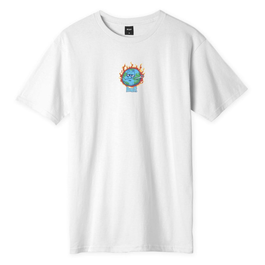 HUF Sick Sad World T-Shirt White MENS APPAREL - Men's Short Sleeve T-Shirts huf