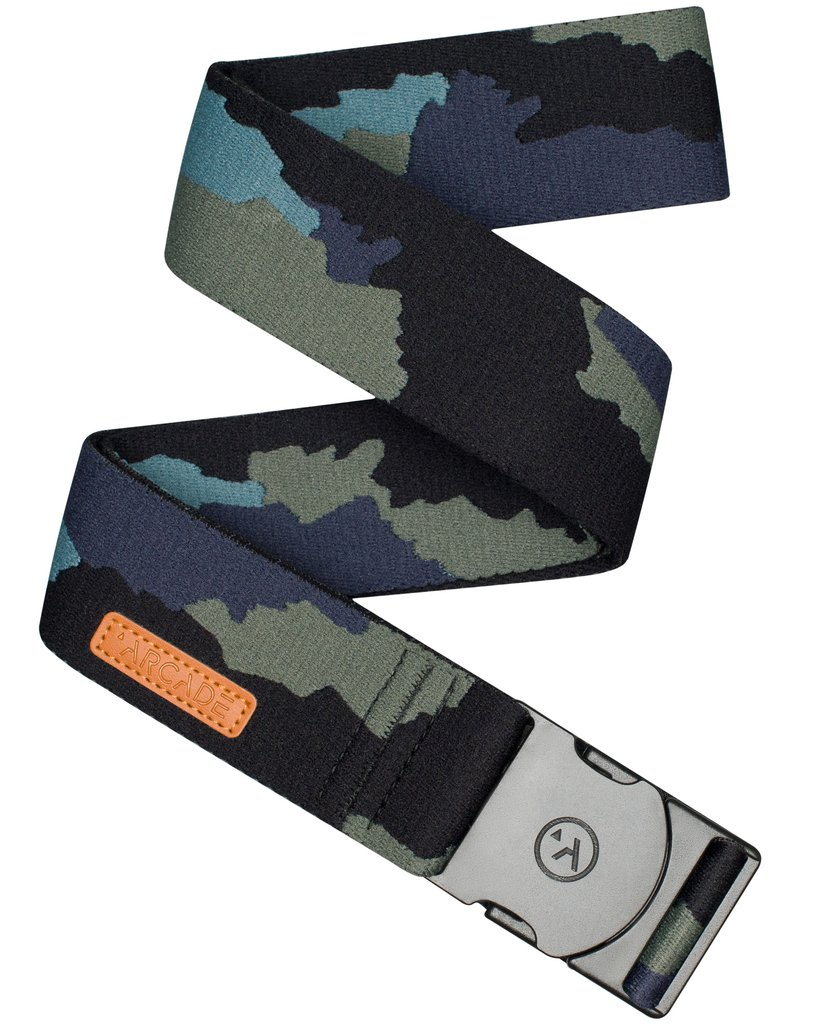 ARCADE Ranger Adventure Belt Teal/Deep Sea Camo MENS ACCESSORIES - Men's Belts ARCADE
