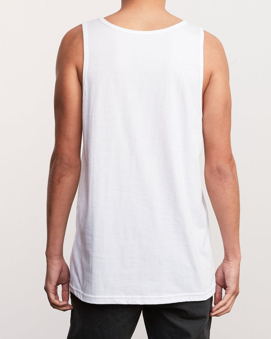 RVCA Bad Palms Tank Top White