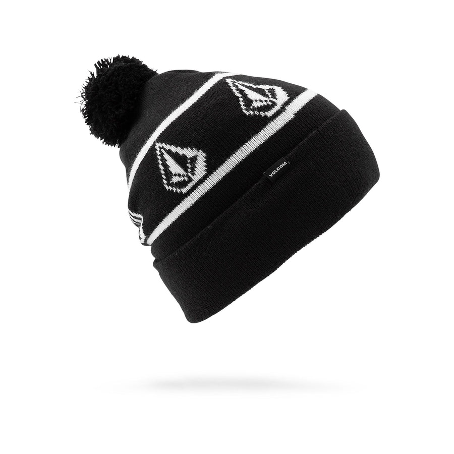 VOLCOM Powder Beanie Youth Black KIDS APPAREL - Boy's Beanies Volcom