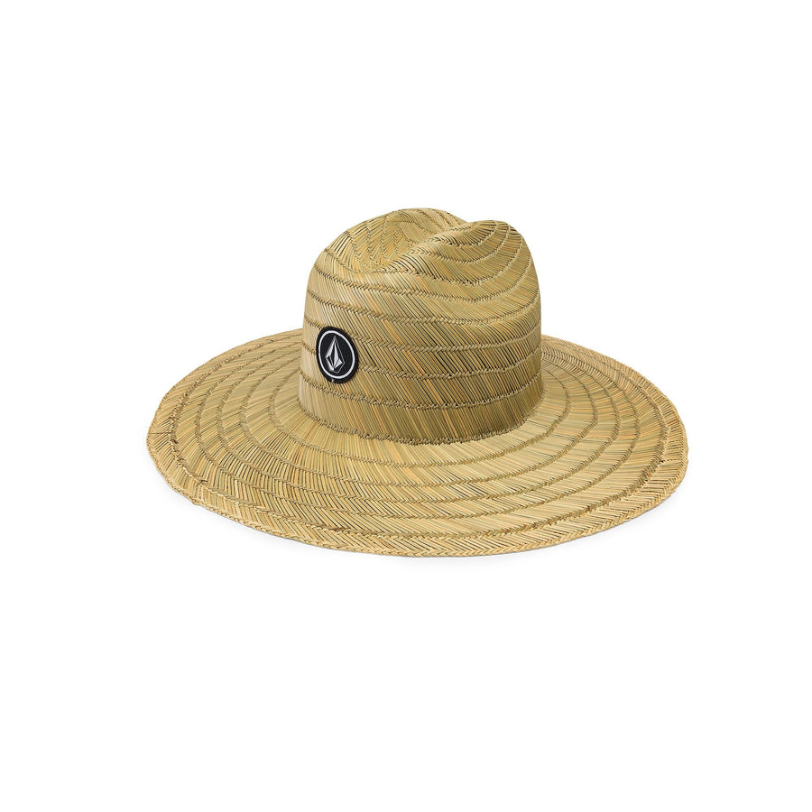 VOLCOM Quarter Straw Hat Youth Natural