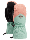BURTON Profile Mitten Kids Pink Dahlia/Faded Jade WINTER GLOVES - Youth Snowboard Gloves and Mitts Burton