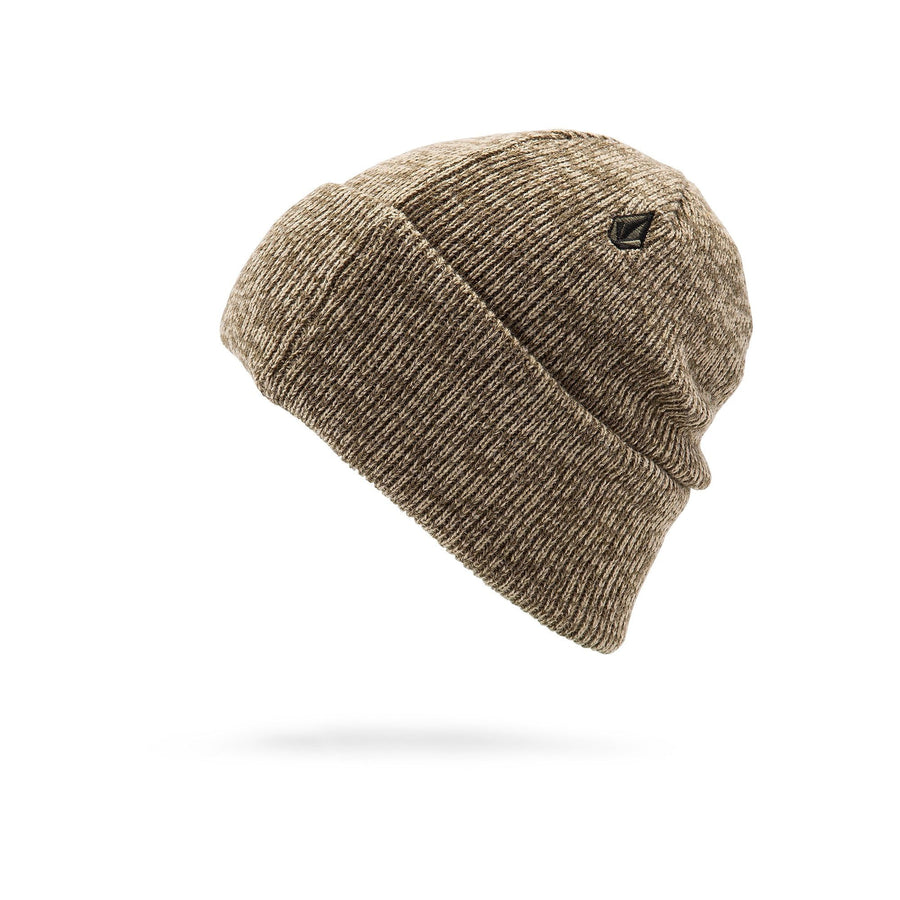 VOLCOM Heathers Beanie Khaki MENS ACCESSORIES - Men's Beanies Volcom